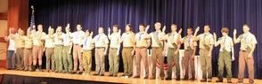Taking the Eagle Oath