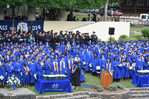 CBS News Anchor Jim Axelrod Takes Selfie During Commencement Address to 522 Montclair H.S. Graduates, photo 8