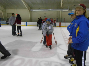 Community Enjoys Gov. Livingston Varsity Hockey Holiday Skate , photo 4