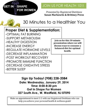 30 Minutes to a Healthier You-Free Nutrition Seminar, photo 2