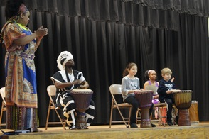 The Seventh Principle performs at Mountain Park Elementary School