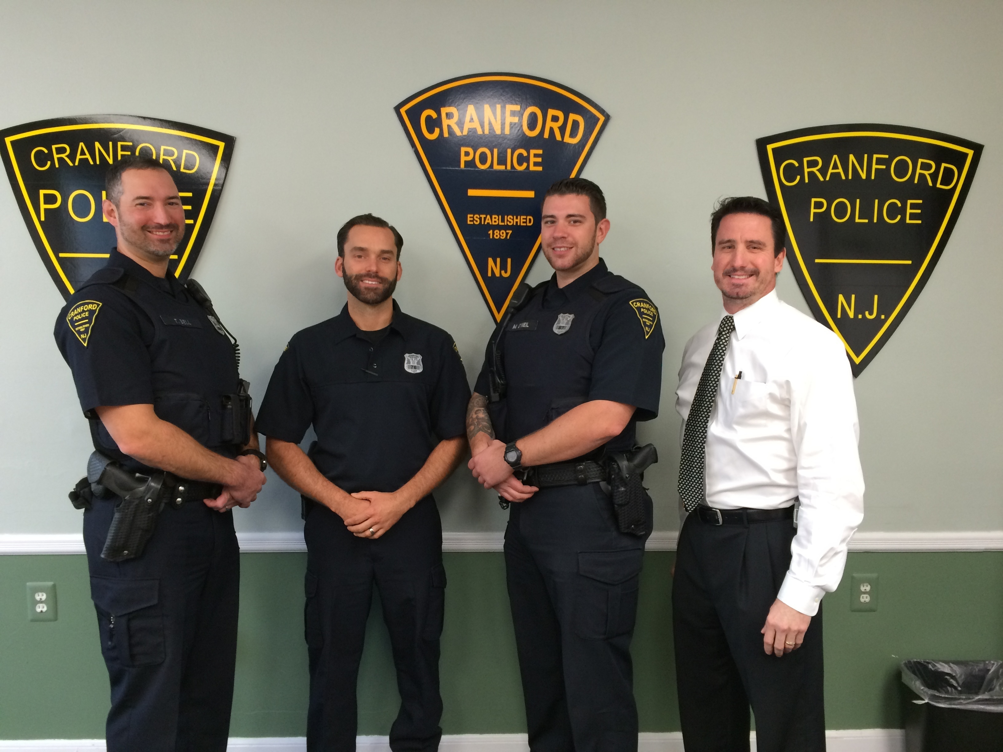 cranford police department participates in no shave november