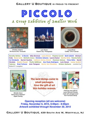 Piccolo: A Group Exhibition of Smaller Work