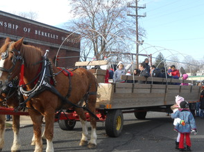 Hundreds Turn Out For Santa Visit and Horse-Drawn Wagon Rides, photo 24