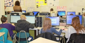 Helen Morgan Students Visit Sparta High School to Learn Coding, photo 8