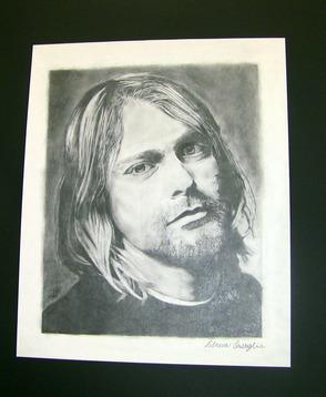 Kurt Cobain portrait