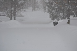 Wallkill Road Disappears Under the Snow