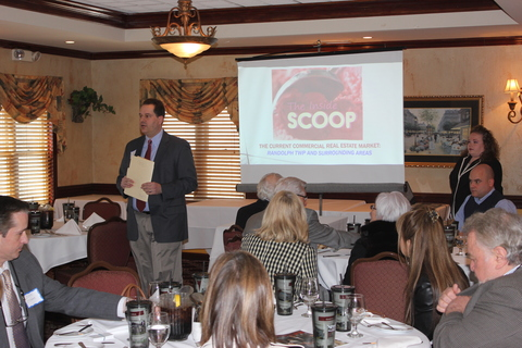 Randolph chamber of commerce hears about trends in for Randolph and associates