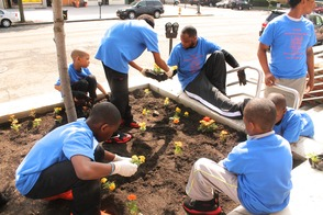 Roselle Comes Together for Community Clean Up Day, photo 37