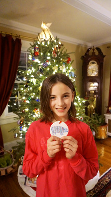 Westfield Student Wins Christmas Drawing Contest, photo 1