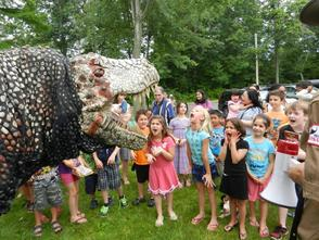 Dinosaurs to Visit Library of the Chathams on Aug. 28, photo 1