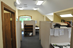 A section of the offices at CP Engineers & Architecture.