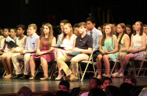 Terrill Middle School graduation
