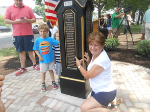 Peppertown Park Clock Connects Generations At Dedication Ceremony, photo 16