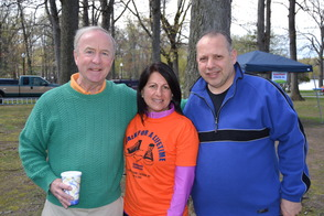 "U.S. Congressman Rodney Frelinghuysen and Verona Councilman Frank Sapienza Enjoy The Children's Institute ""Walk For a Lifetime."""