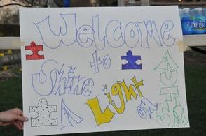 Shine a Light on Autism Night
