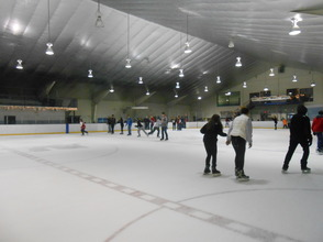 Community Enjoys Gov. Livingston Varsity Hockey Holiday Skate , photo 7