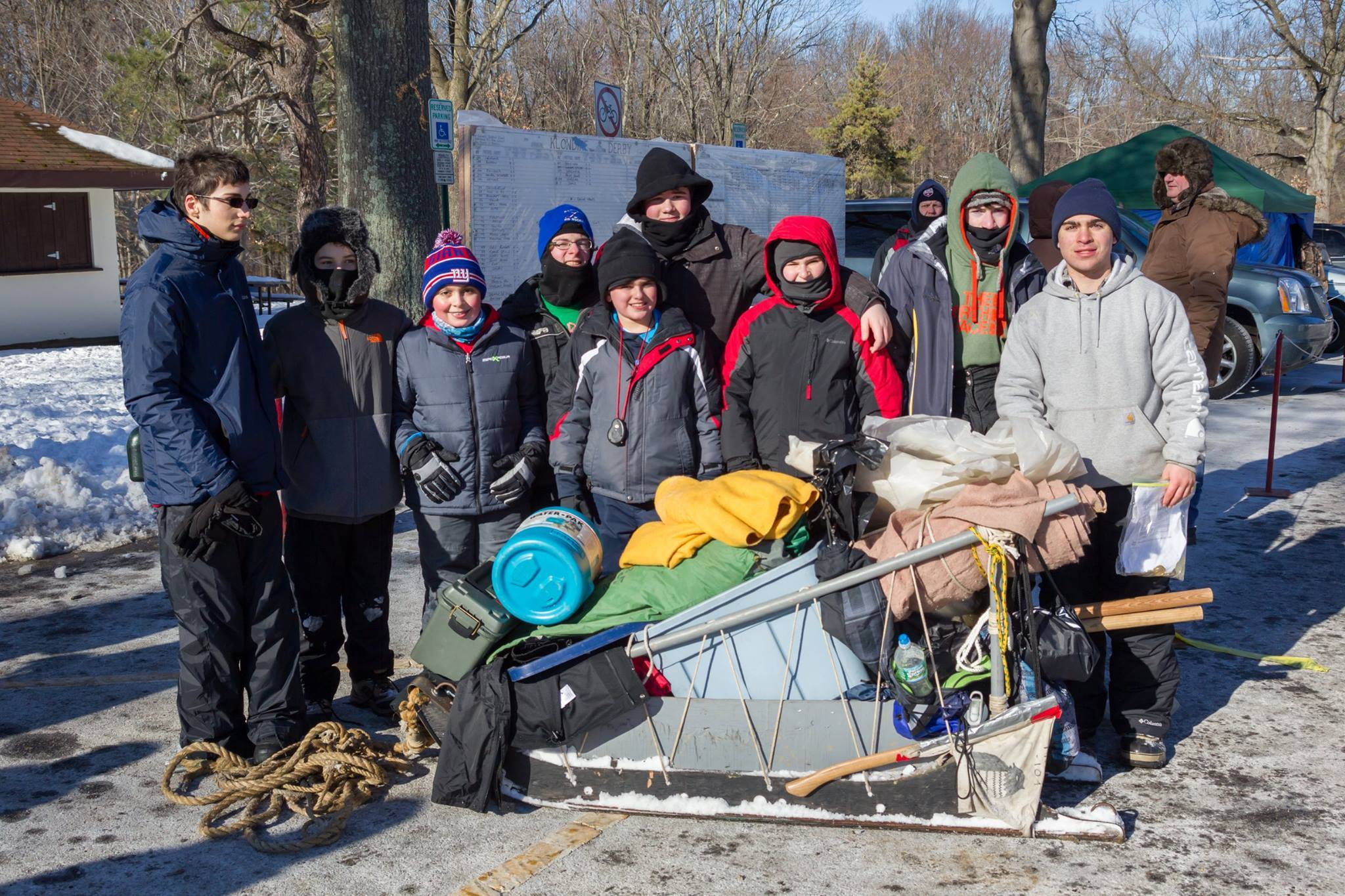 bsa klondike derby held at watchung reservation news