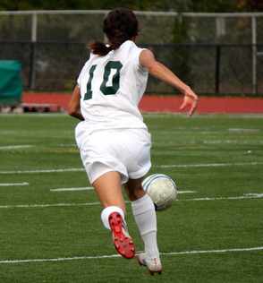 Lisa Caprara, junior, #10