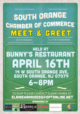 Networking Event Wednesday Night with South Orange Chamber of Commerce, photo 1