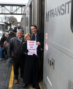 Another victory for the Raritan Valley Line