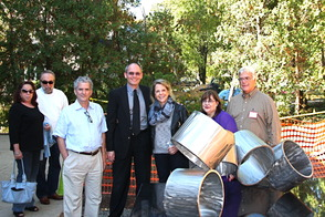 "Art Advisory Unveils Lenny Shapiro's ""Rotare"" Sculpture at the Millburn Public Library, photo 3"