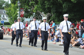 Andover Township Fire Department was a part of the festivities as well.