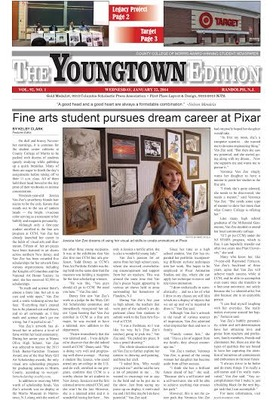 CCM's Student Newspaper Takes Home Six State Awards The Youngtown Edition Continues Run of Success in NJCPA Contest, photo 1