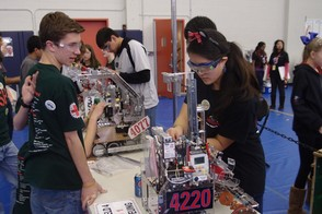 Landroids at New Jersey State FTC Championship