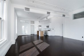 Kristen Wiig Apartment for Sale - View of the Kitchen and Dining Space