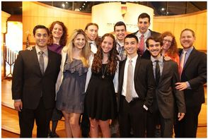 Temple Emanu-El's 12th Grade Graduating Class of 5774/2014