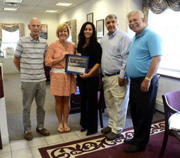 Unity Bank thanked for Memorial Day concert.