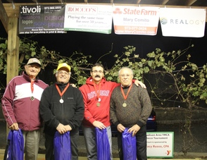 "Madison Area YMCA 2013 Charity Bocce Invitational Champions: ""Outcasts"""