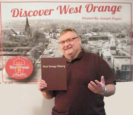 West Orange Town Historian Joe Fagan