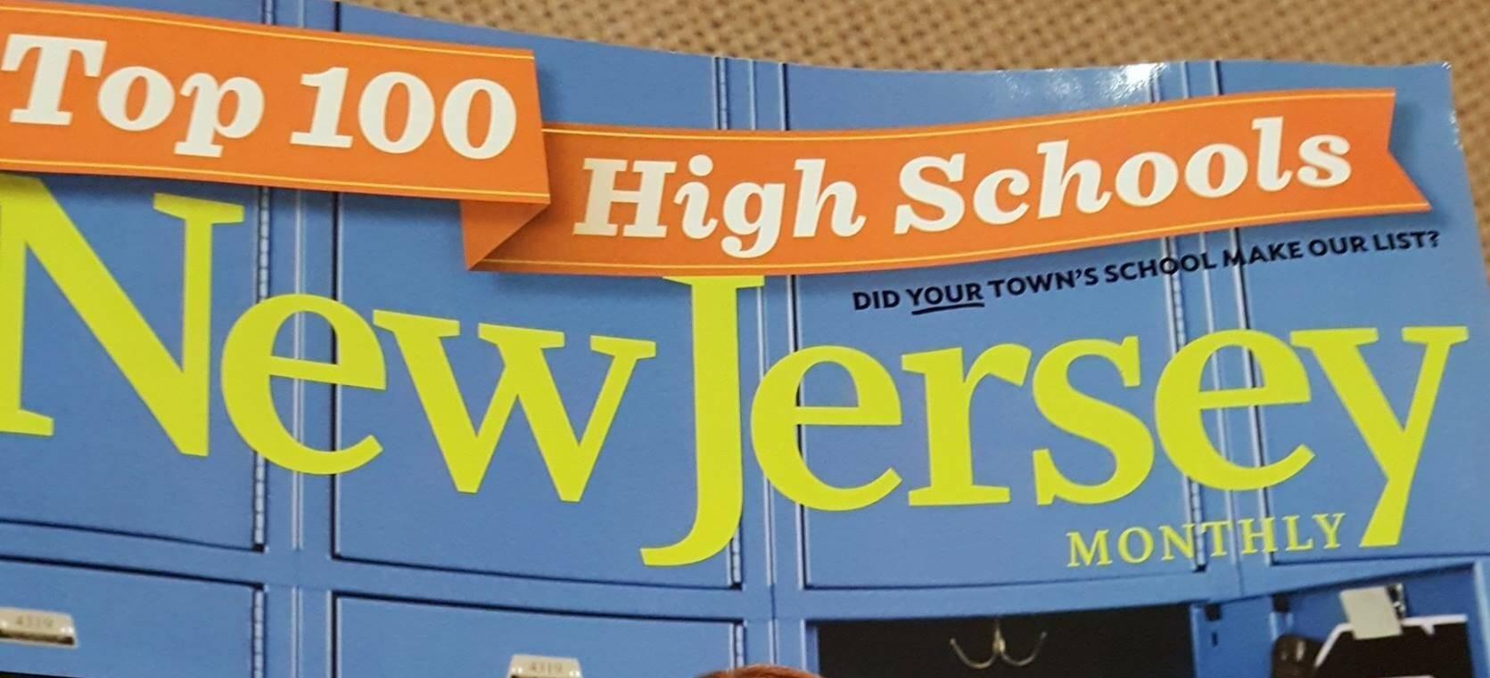 Millburn Ranks No. 4 on NJ Monthly's Top 100 Public High Schools in 2016