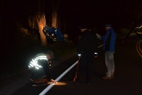 Friday night accident on Sparta Road