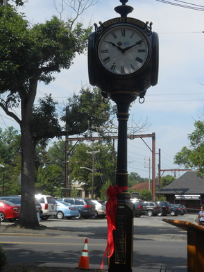 Peppertown Park Clock Connects Generations At Dedication Ceremony, photo 1