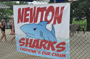 How the Newton Sharks welcomed their guests.