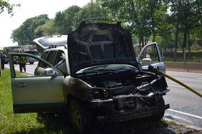 Hyundai Santa Fe Catches Fire