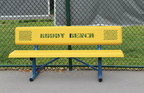 Buddy Bench Installed in Holy Trinity Interparochial School Westfield Campus, photo 1