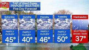 West Essex Area Weather for Saturday, Mar. 8, photo 1