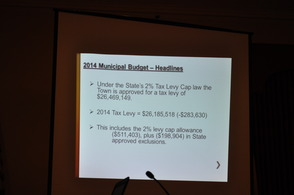 Westfield Town Council Presents Proposed 2014 Budget, photo 2