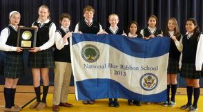 St. Rose of Lima Named National Blue Ribbon School