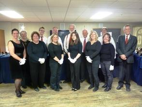 The Walsh Grazio Bell Choir of the Presbyterian Church of Morris Plains.