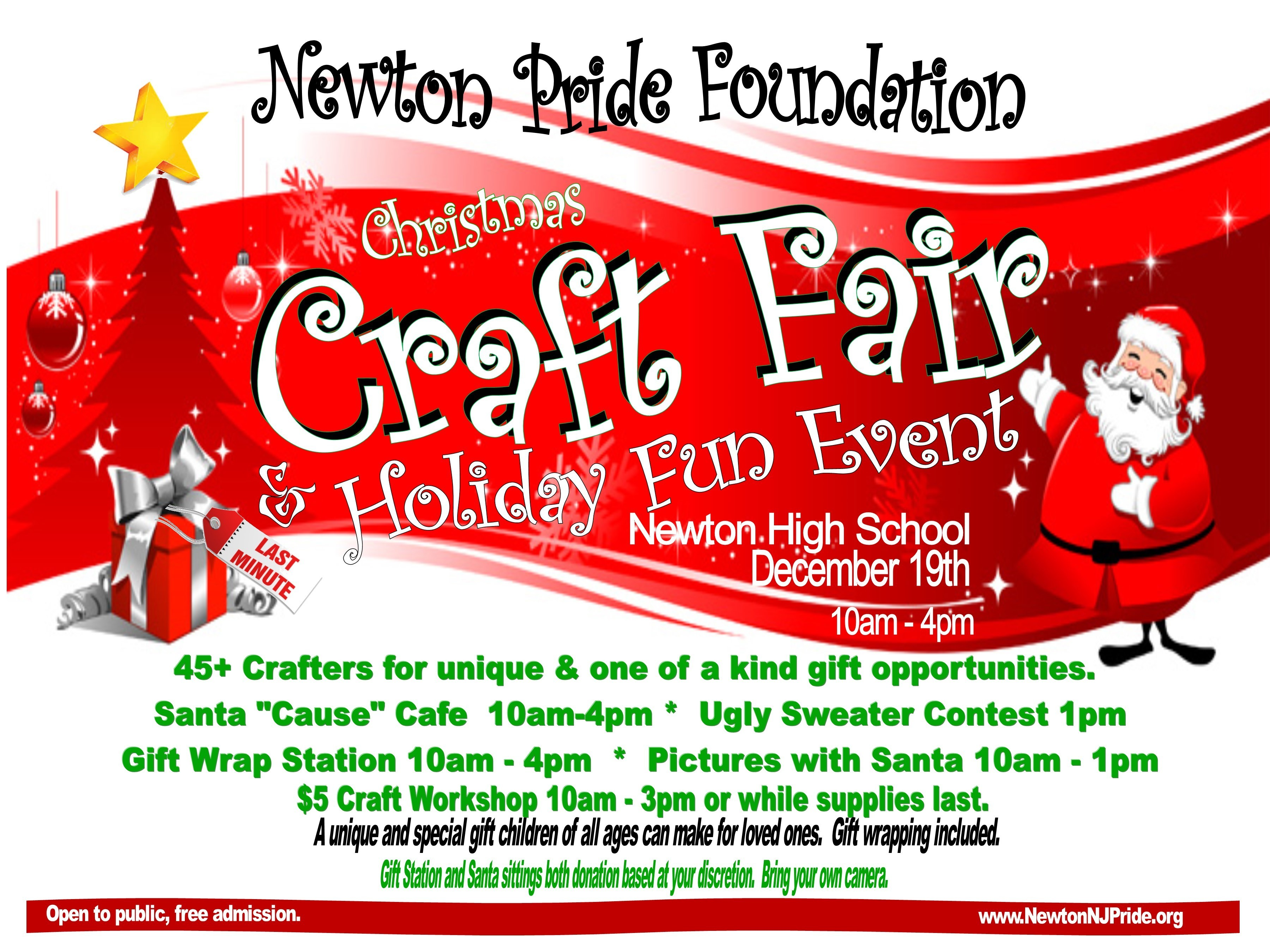 Ugly Sweater Contest Added To Newton Pride S Christmas Craft Fair Tapinto