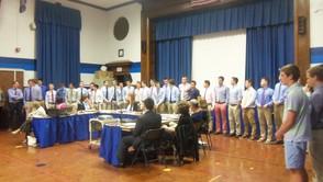 WHS Boys' Swim Team