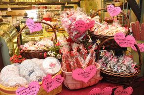 Decadent treats at the Candy Apple Shoppe in the Glenwood section of Vernon Township.