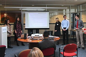 Seton Hall Marketing Students Present Ideas for Irvington Avenue Redevelopment, photo 3