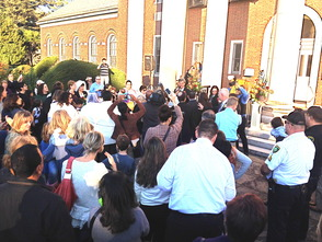 Mayor DeLuca Performs Mass Wedding on Steps of Municipal Building, photo 5