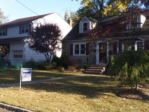 A home for sale on Irving Avenue in Westfield.